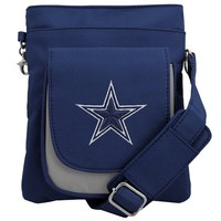 Dallas Cowboys Ladies Traveler Purse - Royal Blue