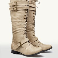Buckle Riding Boots | Fashion Boots | rue21