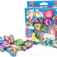 LISA FRANK RAINBOW DREAMS ERASERS