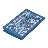 Mix #483 - Blue Aztec Wallet