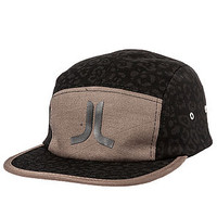The Cheetah Print 5 Panel in Black