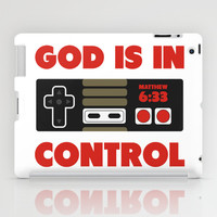 God's in Control iPad Case by LookHUMAN