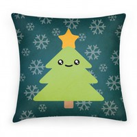 Kawaii Christmas Pillow