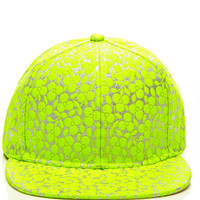 Embroidered Flourescent Cap by Joshua Sanders Now Available on Moda Operandi