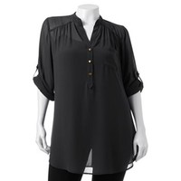 HeartSoul Sheer Tunic - Juniors' Plus