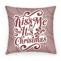 Kiss Me it's Christmas (Red)