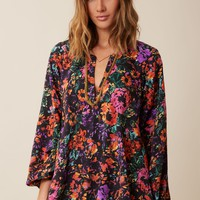 JAMIE FLOWER POP TUNIC