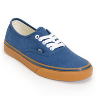 Vans Authentic Dark Denim & Gum Shoe