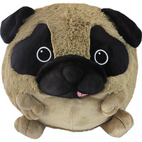 Squishable Pug: An Adorable Fuzzy Plush to Snurfle and Squeeze!