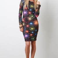 Resounding Fireworks Dress