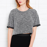 Sparkle & Fade Nepped Roll Sleeve Tee