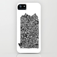Typographic Pennsylvania iPhone & iPod Case by CAPow!