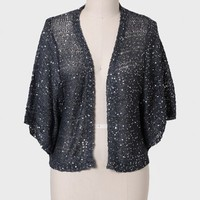 By Moonlight Sequined Curvy Plus Cardigan