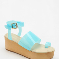 Madison Harding Toe-Hold Platform Wedge Sandal