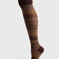 Morse Hall Printed Socks