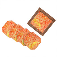 Rosie Brown Florida Orange Coaster Set