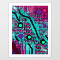 Plaing with Patterns Art Print by Mittelbach Marenco Florencia