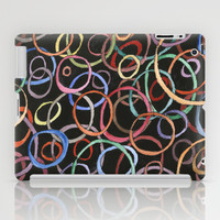 circles iPad Case by rysunki-malunki
