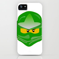 Ninjago face Lloyd  iPhone & iPod Case by Lauren Lee Designs