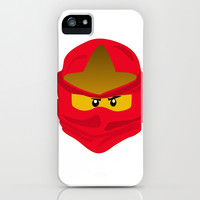 Ninja Face Kai iPhone & iPod Case by Lauren Lee Designs