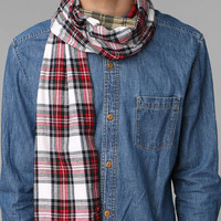 Urban Renewal Pieced Flannel Scarf - Urban Outfitters