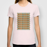 Wooden Mint  T-shirt by Louise Machado