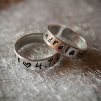 Customizable Ring from Handmade Bijoux