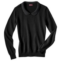Merona® Women's Peter Pan Studded Collar Pullover Sweater - Assorted Colors