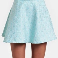 My Girl Jacquard Circle Skirt