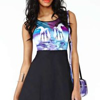 MinkPink Sonic Sounds Dress