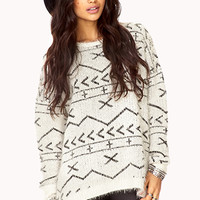 Standout Eyelash Knit Sweater