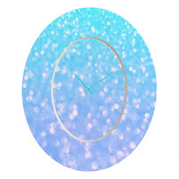 Lisa Argyropoulos Tranquil Dreams Oval Clock