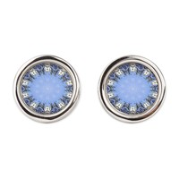 Polished Stone Mandala Cufflinks