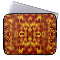Flames Abstract Laptop Computer Sleeves