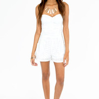 Sweet As Day Romper $60