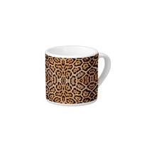 Jaguar Fur Photo Print Espresso Mug