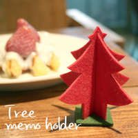 Christmas Tree Memo Holder
