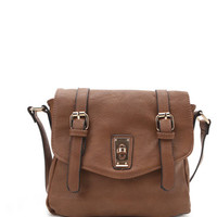 Handbag Republic Buckle Crossbody Satchel Bag at PacSun.com