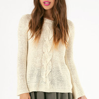 My Flare Lady Sweater $43