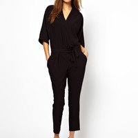 ASOS Jumpsuit with Tie Waist