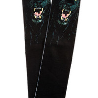 The Panther Socks in Black