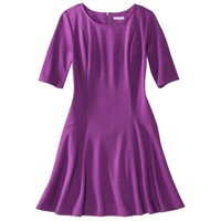 Xhilaration® Juniors Ponte Fit & Flare Dress - Assorted Colors