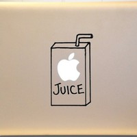 Apple Juice Box Macbook Decal for Mac laptop