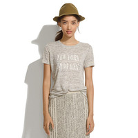 Linen New York New York Tee - Gifts Under $50 - GiftGuide2013_Mobile - Madewell