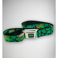 Teenage Mutant Ninja Turtles Shell Print Faces Seatbelt