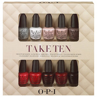 Buy OPI Nails Take Ten 10 Piece Gift Set online at John Lewis