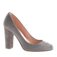 ETTA SUEDE PUMPS