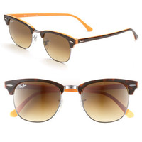 Ray-Ban 'Clubmaster' 51mm Sunglasses | Nordstrom