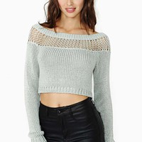 Nasty Gal Flicker Crop Sweater