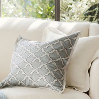 MARLO EMBROIDERED PILLOW COVERS